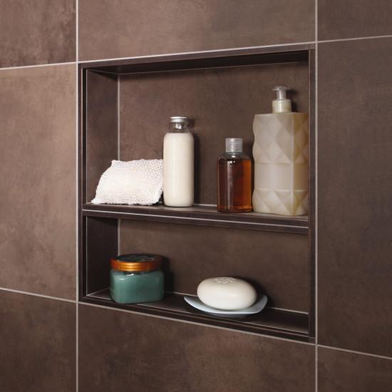 Schluter niche shower bathroom