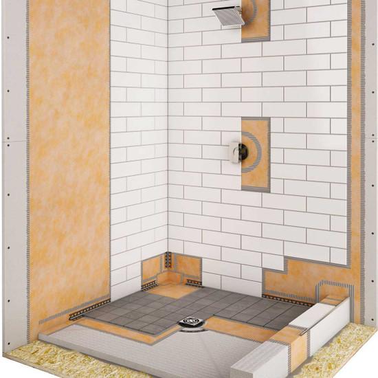Kerdi Shower Kit pans