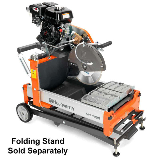 Husqvarna MS 360 G Saw with Optional Collapsible Stand