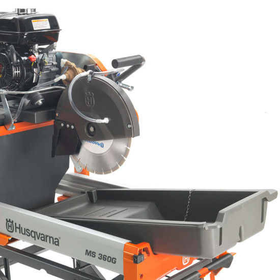 Husqvarna MS 360 G Masonry Saw Removable Water Pan