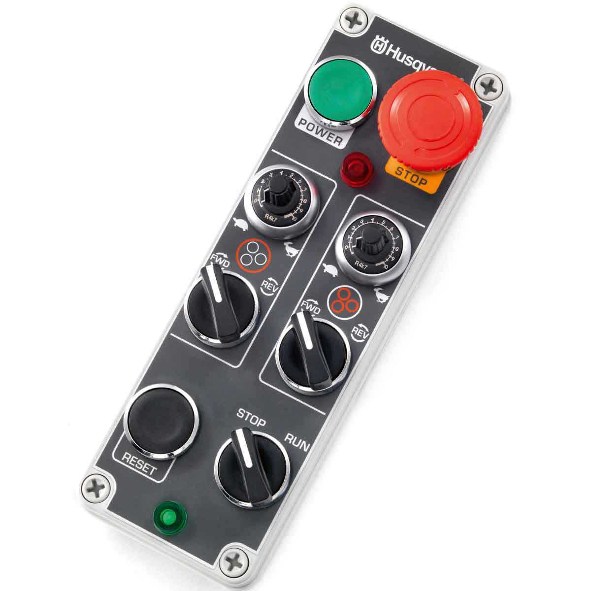 Husqvarna PG820 Grinder controls