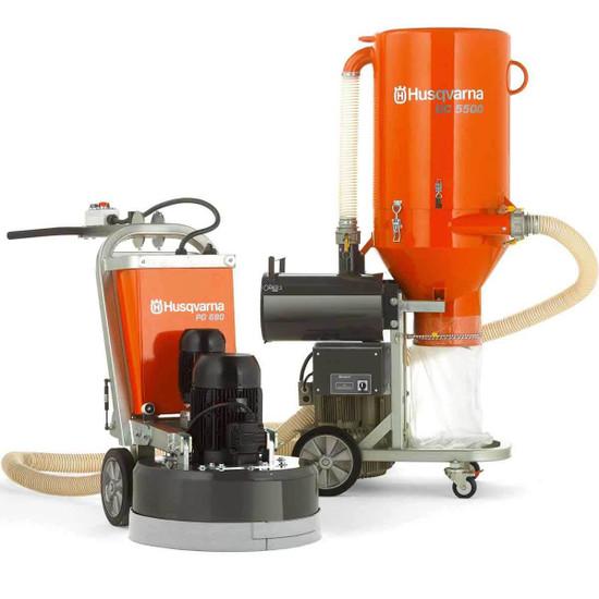 Husqvarna PG 820 Grinder with Vacuum