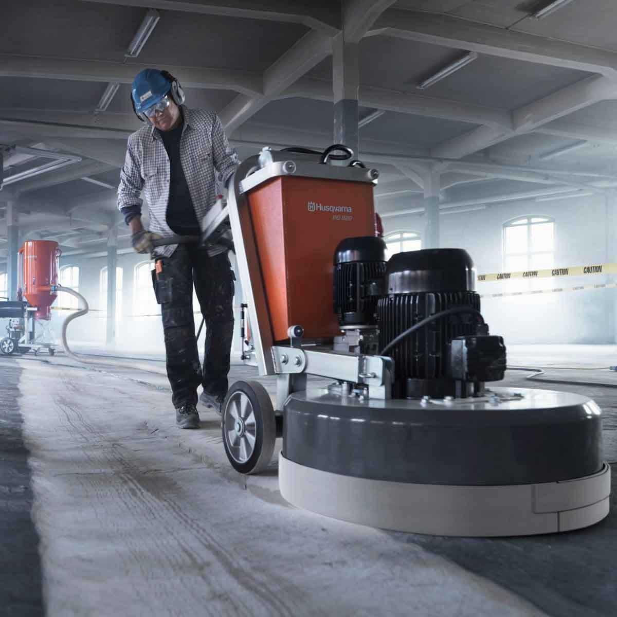 Husqvarna PG 820 concrete grinding