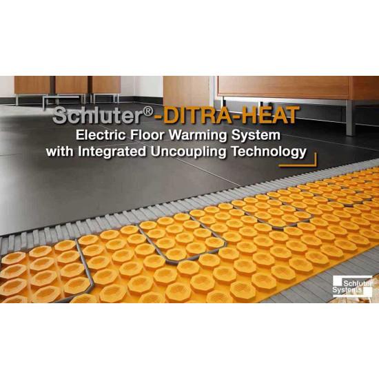Schluter DITRA-HEAT Electric Floor Warming System