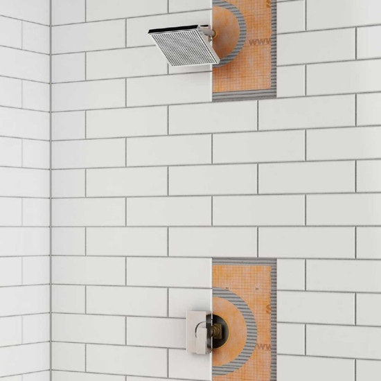 Schluter Kerdi Pipe Seal Display