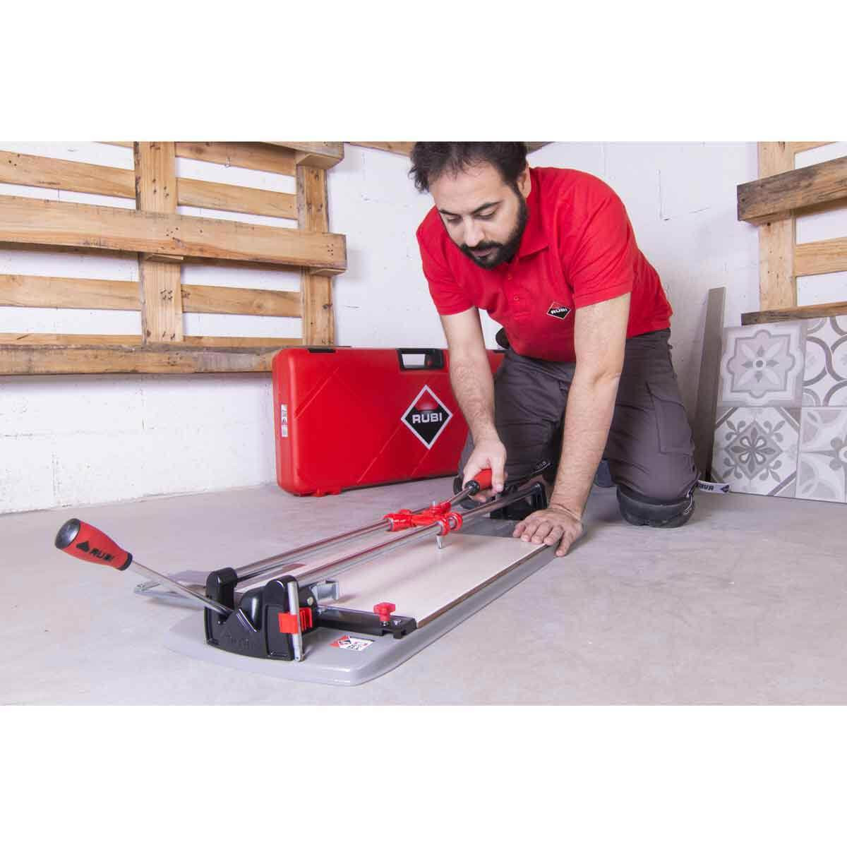 Rubi TS Max Tile Cutter action