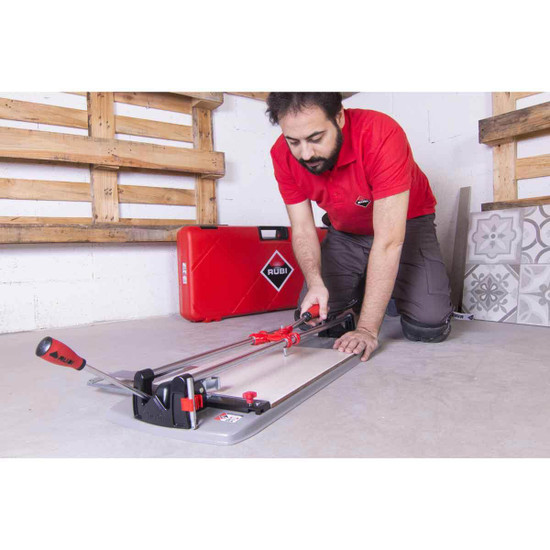 rubi ts max tile cutter in use
