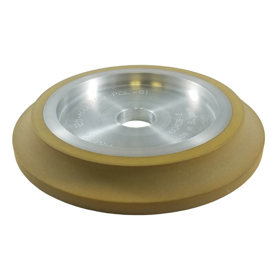 BULLSTEP3 3/8th inch Finish 400 Grit Diamond Polishing Wheels BDW38S3NT