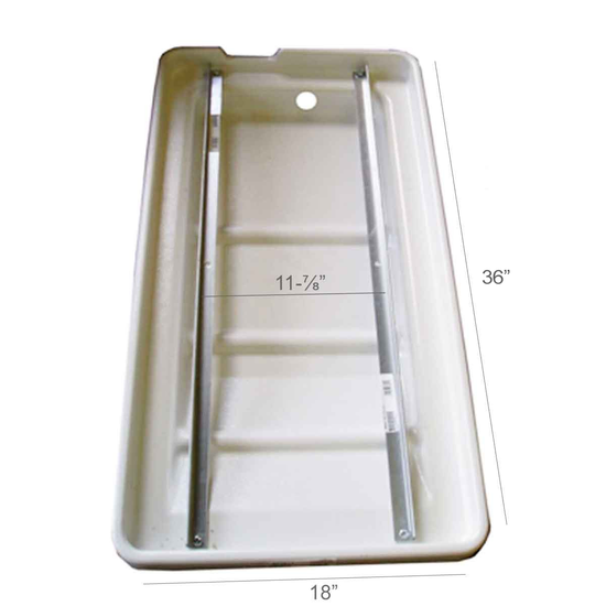 Felker Tilemaster Tile Saw Water Pan Dimensions