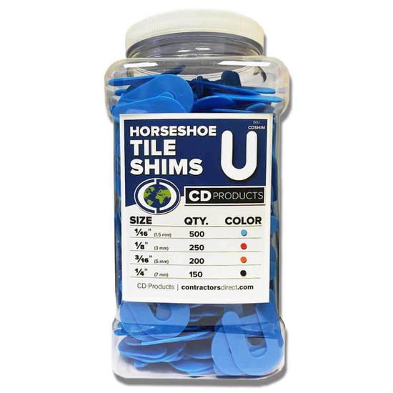 CD Products Plastic Horseshoe Shims