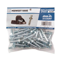 Midwest Rake Blunt Spikes for Spiked Shoes