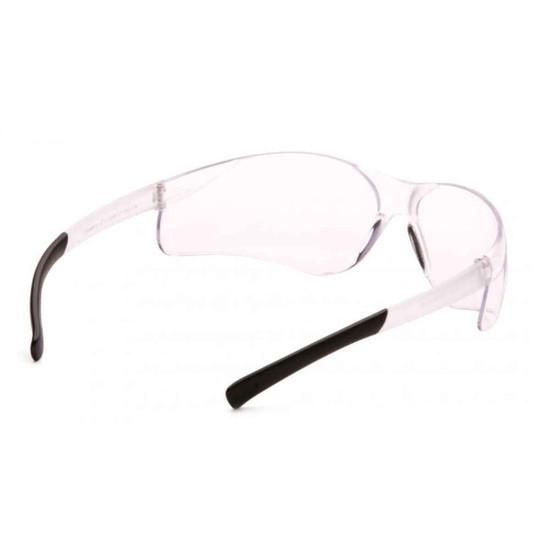 Pyramex Ztek Clear Eye Protection Safety Glasses Rear View