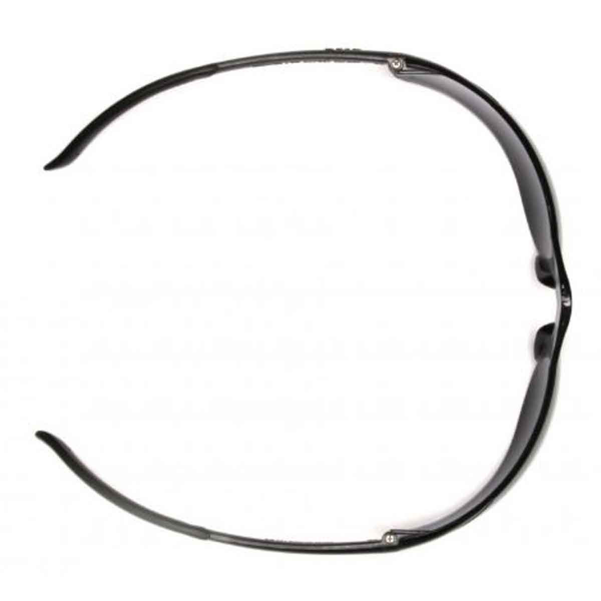 overhead view ztek safety glasses