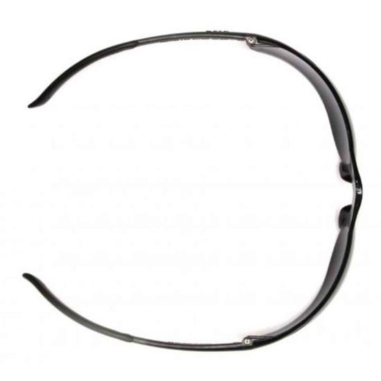 Pyramex Ztek Eye Protection Safety Glasses Top View