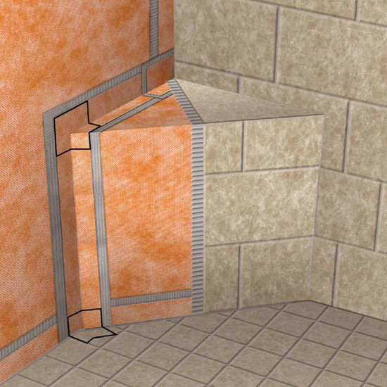 Schluter KERDI Shower Bench Demo