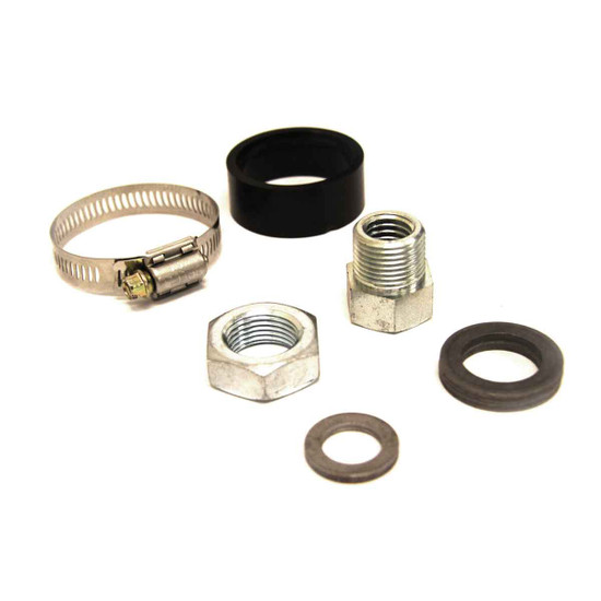 Shroud Clamp and Nut Assembly