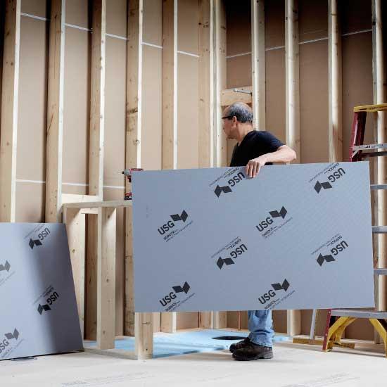 USG Ultralight Foam Tile Board