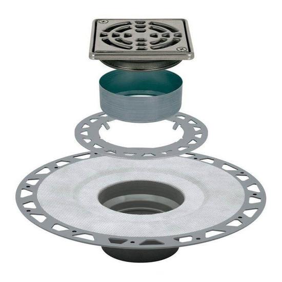 Schluter KERDI DRAIN Flange Drain Assemblies Schluter shower system