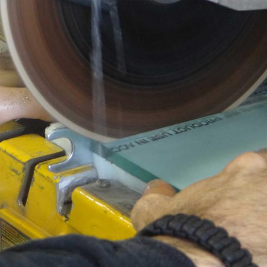Alpha Vetro Glass cutting dewalt tile saw