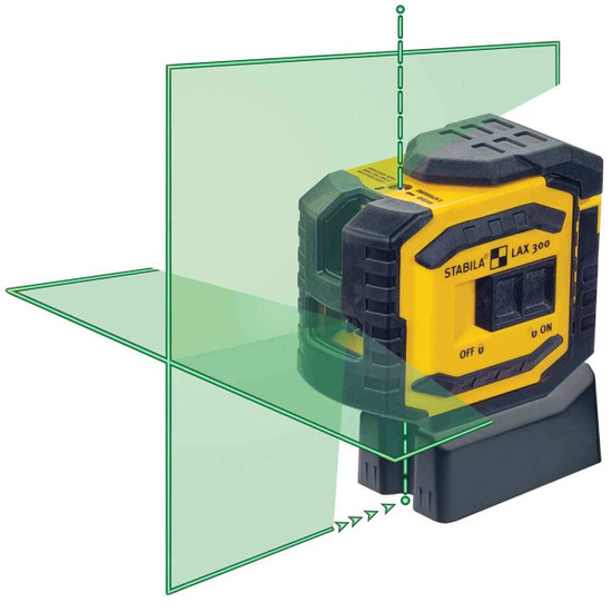 Stabila LAX300G Cross Line Green Beam Laser
