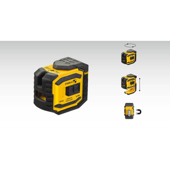 Stabila LAX300G Laser Features