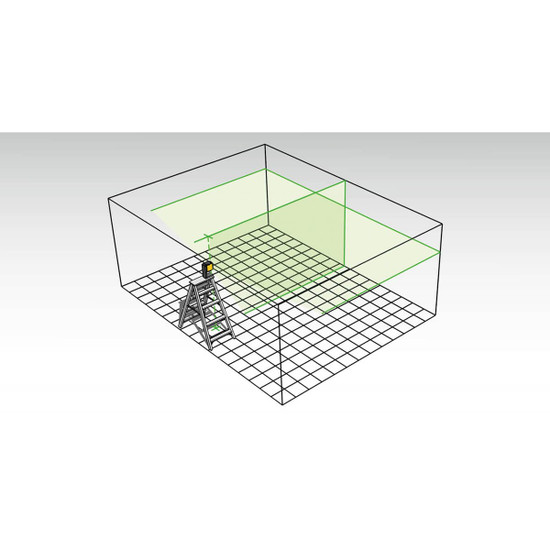 Stabila LAX300G Wall Layout Laser