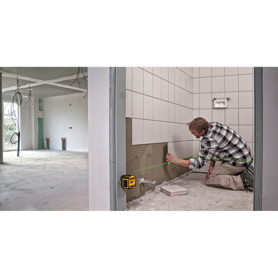 Stabila Cross Line Laser for Tile Layout