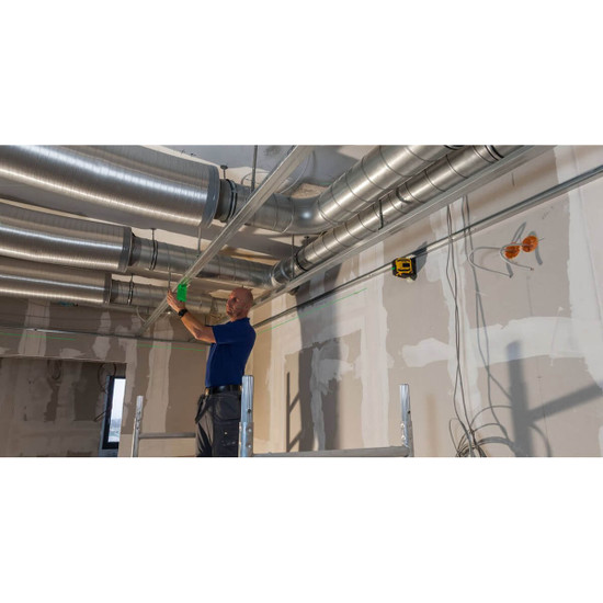 LAX300G Cross Line Laser Ceiling Layout