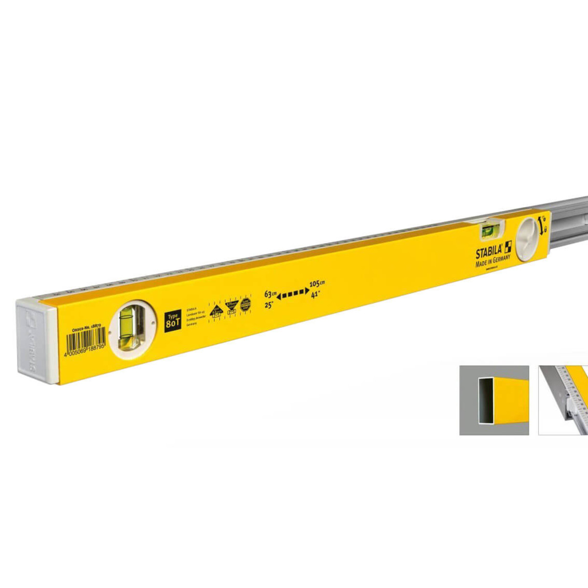 Stabila 80T Adjustable Level door