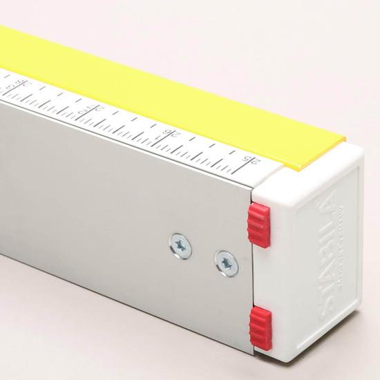Stabila Inch Ruler Guide on Level