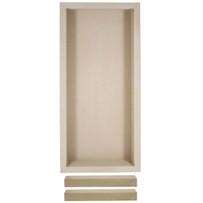 Noble Adjustable niche shelf shower