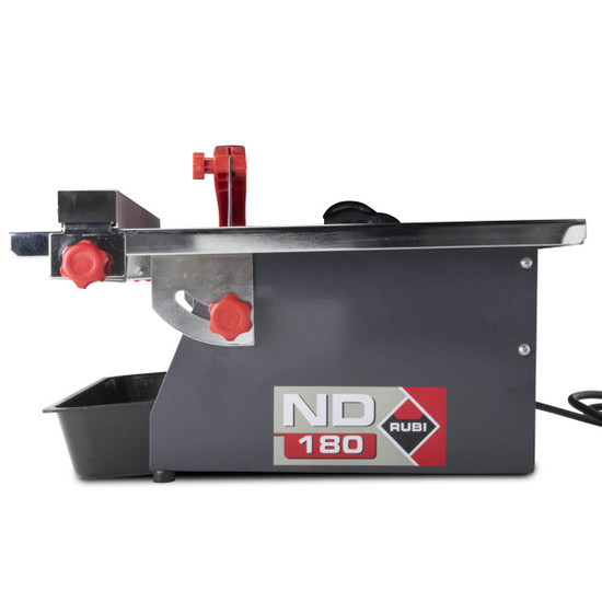 Rubi 7 inch tile saw ND180 rear