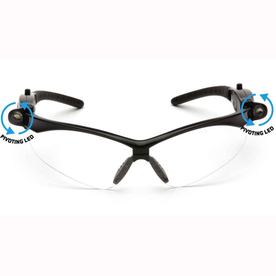 SB6310STPLED Pyramex PMXTREME LED Safety Glasses