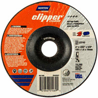 Norton Charger 4 inch type 27 abrasive cut-off wheels