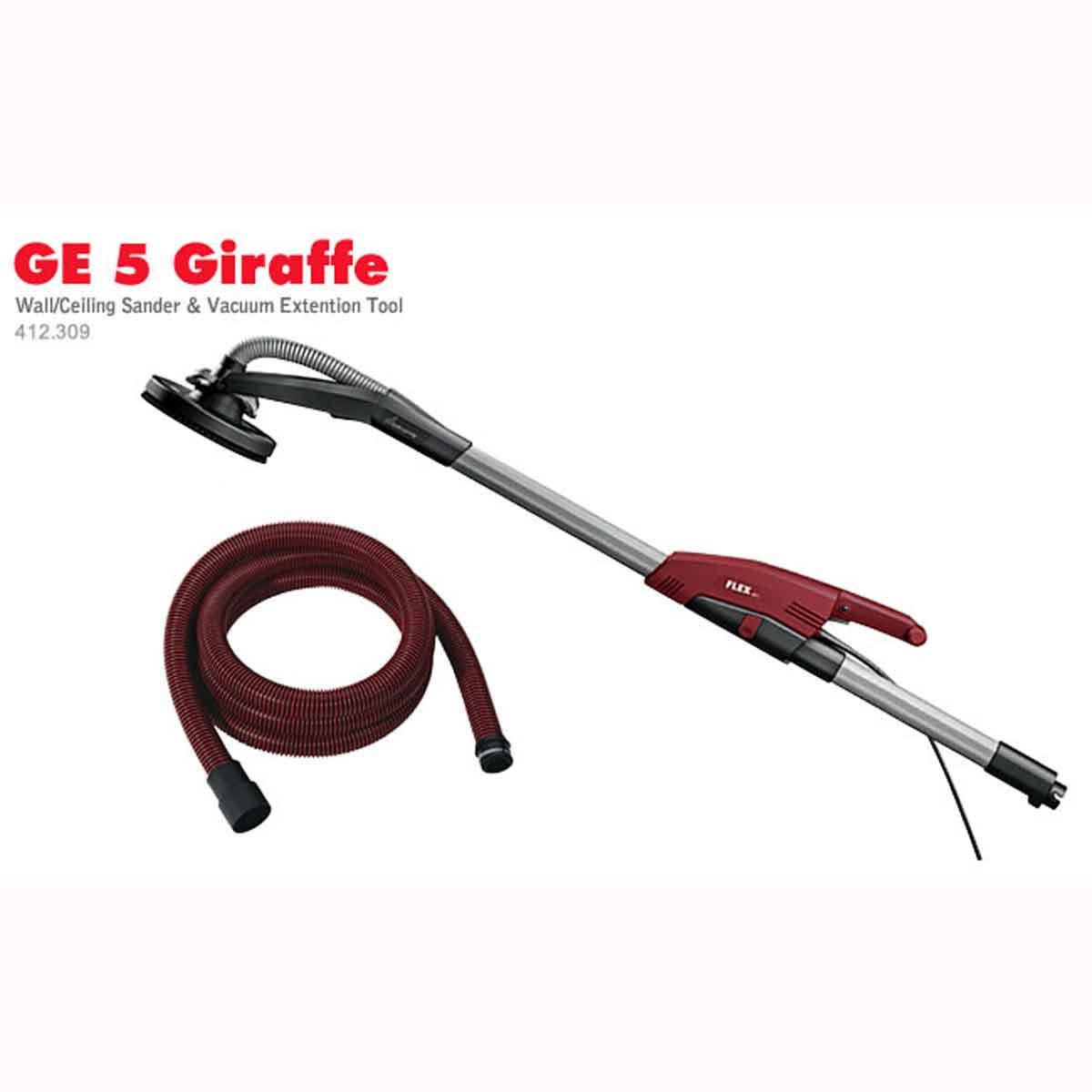 Flex Giraffe sander vacuum hose