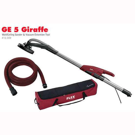 Flex Giraffe Wall and Ceiling Sander with Hose and Carrying Bag