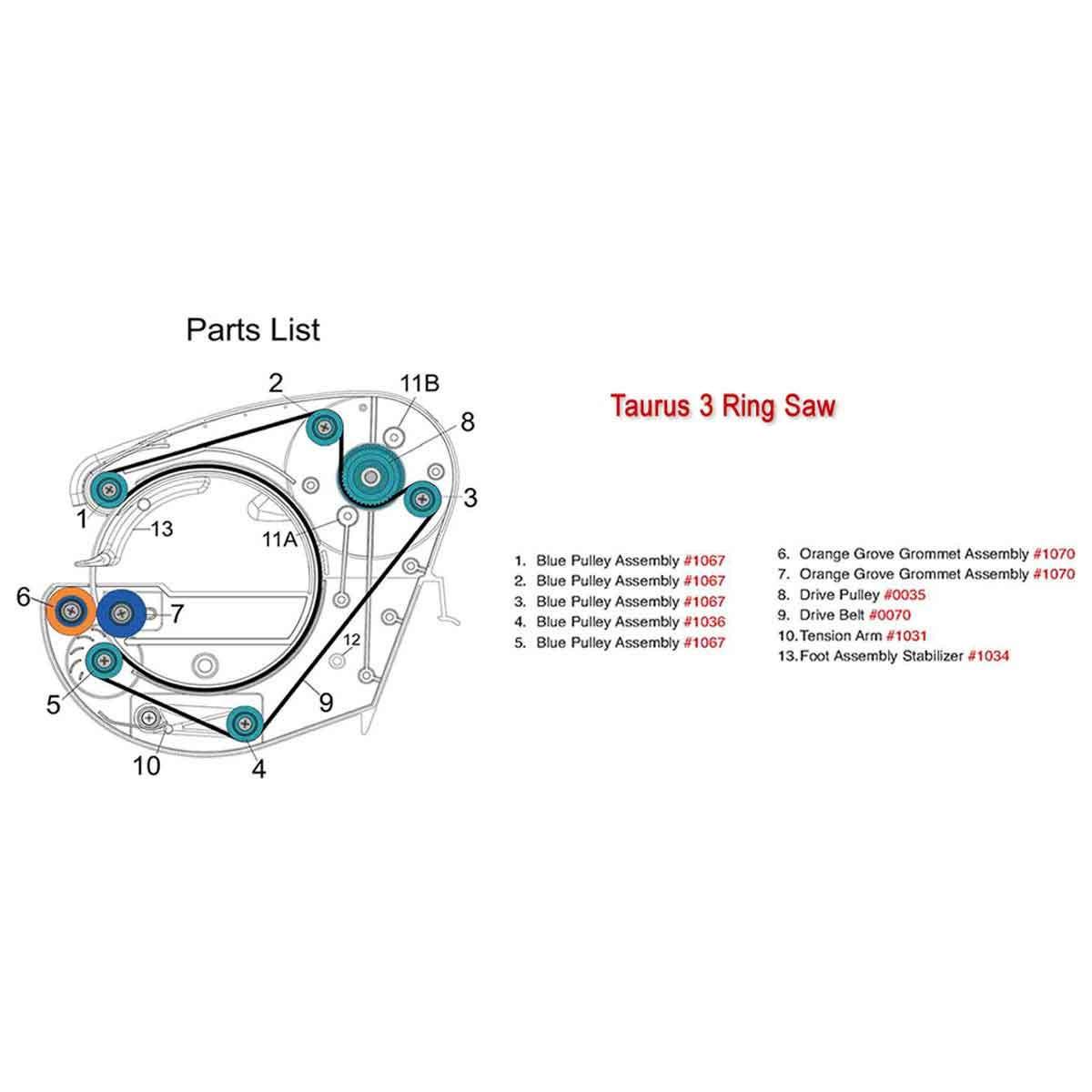 used Gemini Taurus 3 Ring saw