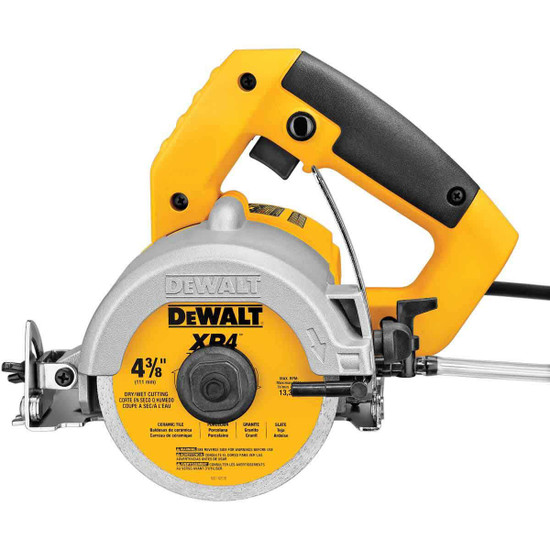 Dewalt HeavyDuty WetDry Tile Saw Contractors Direct - Dewalt wet saw pump