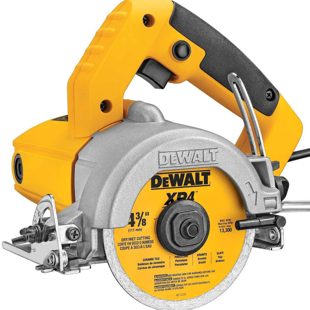 Dewalt DWC860W Heavy-Duty 4-3/8'' Wet/Dry Tile Saw 2