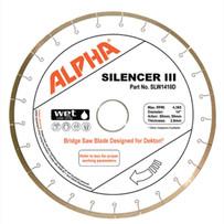 Alpha Silencer III Bridge Saw blade