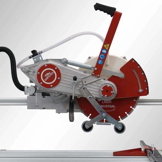 Raimondi Zipper Advanced Rail Saw belt driven motor