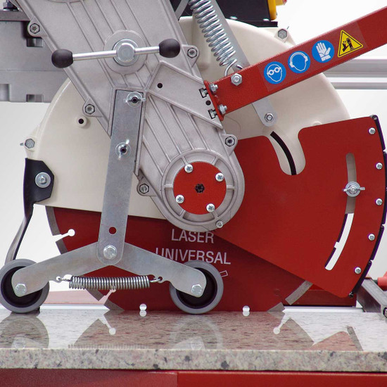 Raimondi Zipper Advanced Rail Saw plunge cut