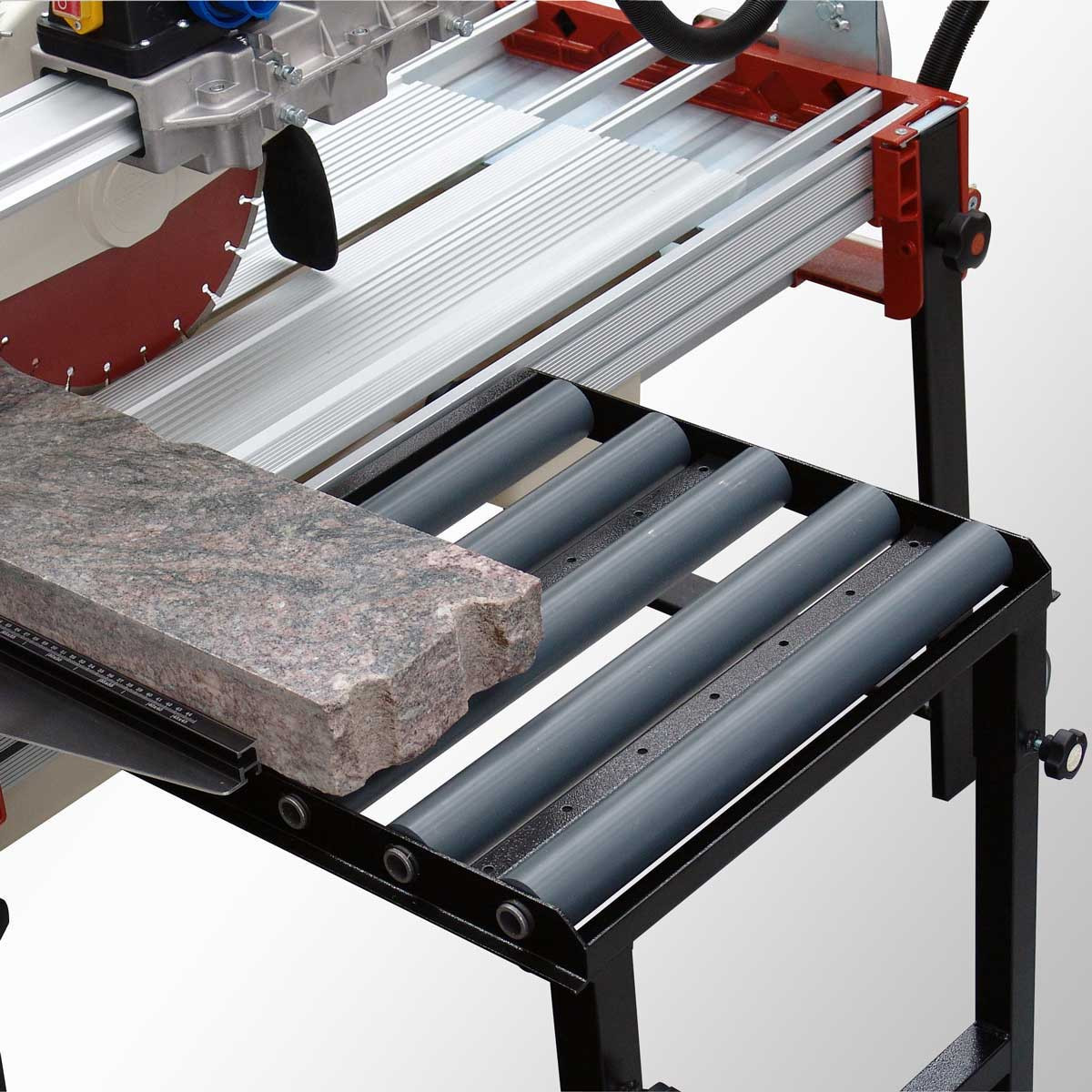 Raimondi rail saw rolling extension table