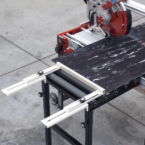 Raimondi Zipper Advanced Rail Saw optional side extension square w/ rollers