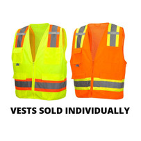 Pyramex Type R Series Neon Safety Vests