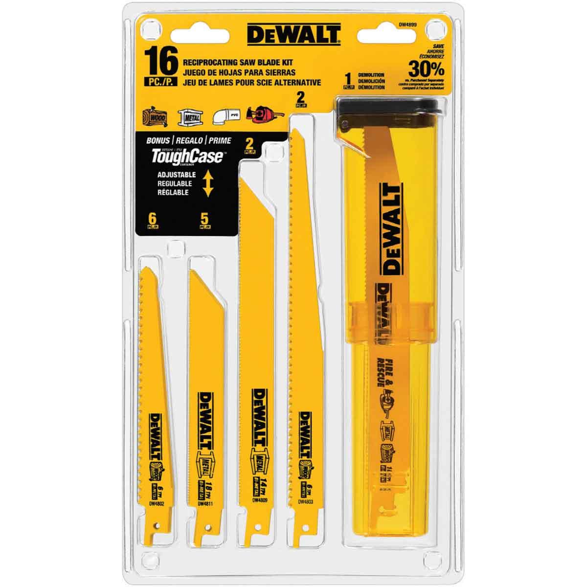 DW4899 Dewalt Reciprocating blades