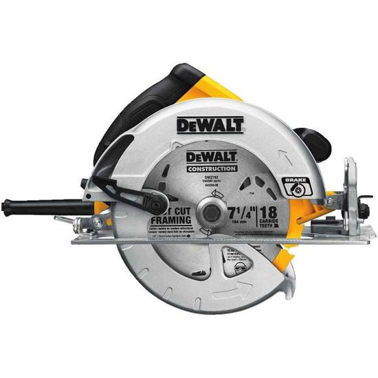 Dewalt 7-1/2 inch Lightweight Circular Saw