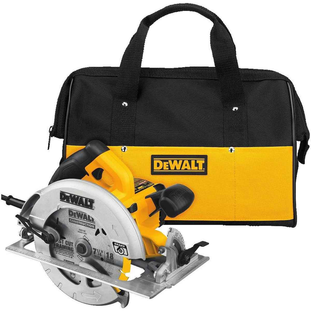 DWE575SB Dewalt light Circular Saw