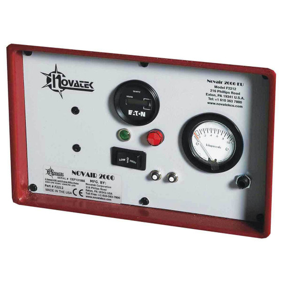 Novatek Negative Air Machine Control panel