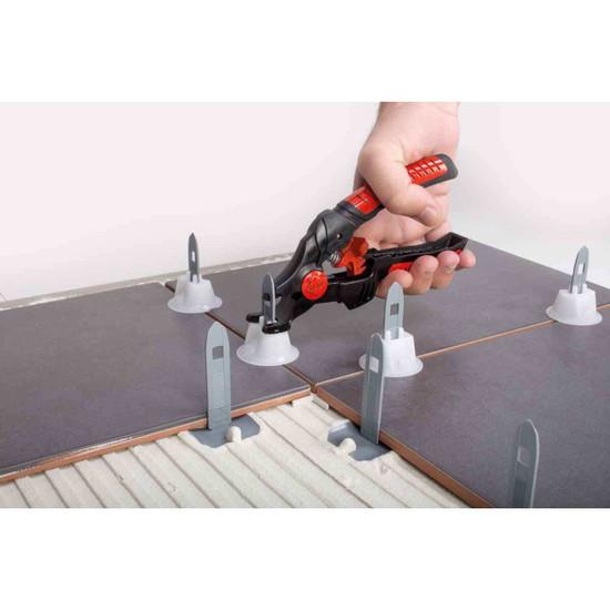 Rubi Tile Level Quick Straps pliers floor tile leveling